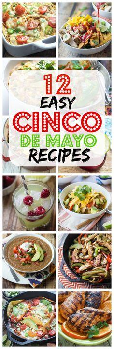 12 Easy Cinco de Mayo Recipes