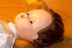 Try this to remove pen and marker stains from dolls.This really works! Wish I would have known this earlier!