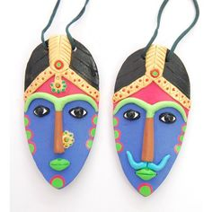 Wall Hanging Terracotta Mask