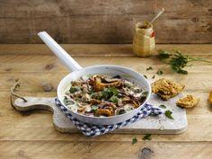Make room for mushroom stroganoff with Alpro Simply Plain Big Pot
