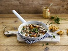 Make room for mushroom stroganoff with Alpro Simply Plain Big Pot