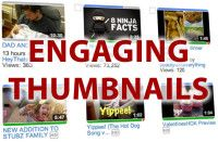 You created a video, uploaded it onto Youtube, now how do you get eyes to actually watch it?     Your thumbnail is equally as important as properly tagging your video.    Here's 5 tips for more engaging video thumbnails!