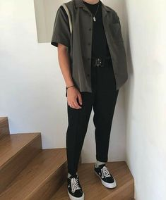 Mode Outfits, Retro Outfits, Fashion Outfits, 80s Fashion Men, Vintage Outfits, Thrift Fashion, Street Fashion, Fashion Tips, Stylish Mens Outfits