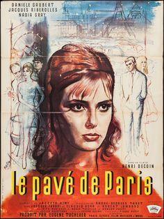 Le Pave de Paris (Henri Decoin, 1961) French grande design by Rene Peron