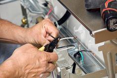 Installation av elanslutning till diskmaskin