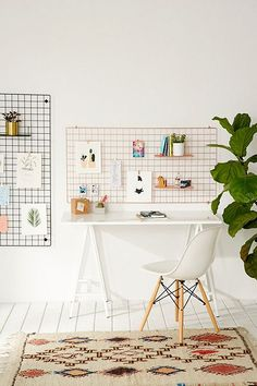 Wire Wall Rectangle Grid