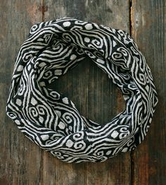 Midnight Geometric Lightweight Infinity Scarf by Maelu available at Withal now. Rags Clothing, Clothing Items, Cool Outfits, Fashion Outfits, Womens Fashion, Sweet Style, My Style, Sewing Patterns, Sewing Ideas