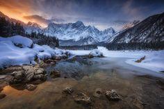 ...laghi di fusine I... by roblfc1892.deviantart.com on @DeviantArt