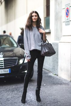 Inspiring Street Style | 6 Hot Ways to Wear Cozy, Chic, Chunky Oversized Sweaters - TrendSurvivor