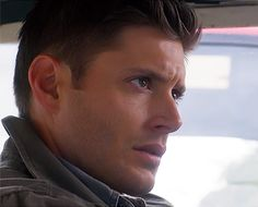 Dean Winchester-- in all his masculine pefection.