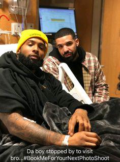 Drake visiting Odell