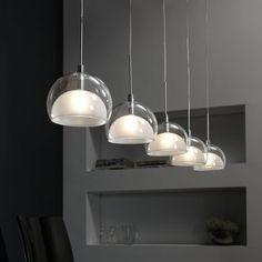 Hanglamp Lido 5 kappen - Furnies.nl
