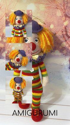 Crochet Dolls Free Patterns, Crochet Doll Pattern, Amigurumi Patterns, Doll Patterns, Knitting Patterns, Handmade Toys, Handmade Crafts, Handmade Ideas, Mini Album Tutorial
