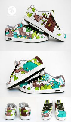 Forest sneaker by ~Bobsmade on deviantART