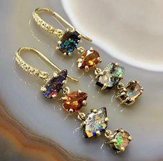 Funky Jewelry, Girls Jewelry, Stylish Jewelry, Modern Jewelry, Jewelry Box, Jewelry Accessories, Vintage Jewelry, Fashion Jewelry, Jewelry Design