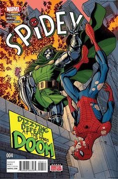 Spidey #4 Marvel Comics (2016)
