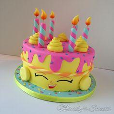 Shopkins inspired wishes cake #shopkinscake #mandyssweets #wishes #wishescake #mandyssweets