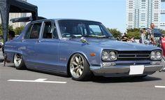 Nissan Skyline GC10 | Lowered, Slammed, JDM, USDM, Hellaflush