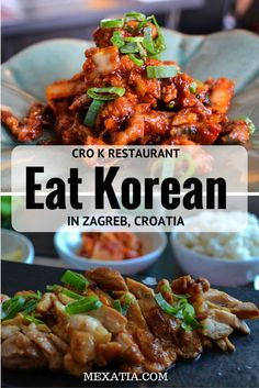 Cro K restaurant: Our first experience with Korean food in Zagreb Follow the link to read more or pin it for later! http://mexatia.com/cro-k-korean-food-in-zagreb/
