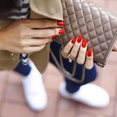 #iconjane #ojesizgezmeyenlerkulubu red nails