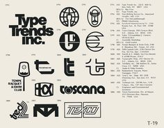 Collection of vintage logos from a edition of the book World of Logotypes. NOTE: I did not create any of this work! This book is out of print but can probably be found with some scouring. Vintage Logo Design, Vintage Logos, Graphic Design, Web Design, Trademark Symbol, Logo Garden, Brand Symbols, Work Related Stress, Minimal Logo