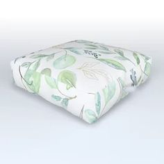 Euculyptus Pattern Outdoor Floor Cushion Outdoor Floor Cushions, Outdoor Flooring, Mattress, Lifestyle, Bed, Pattern, Furniture, Home Decor, Decoration Home