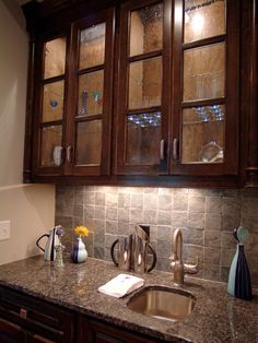 Looks Dark With Just In Cabinet U0026 Under Cabinet Lights   We May Need Can  Lights · Wet Bars ...