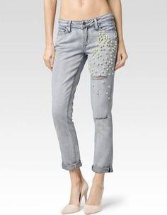 Paige Jimmy Jimmy Embellished Jeans - Google Search