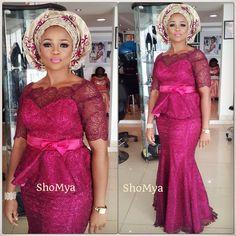 Get The Glamorous Diva Look With The Trendsetting Aso Ebi Styles That Rock - Wedding Digest NaijaWedding Digest Naija