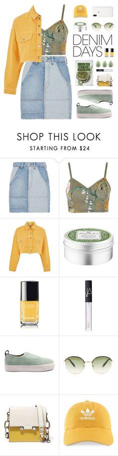 """Jean Dreams: Denim Skirts"" by susli4ek ❤ liked on Polyvore featuring 10 Crosby Derek Lam, Topshop, Chanel, Eytys, Victoria Beckham, Marni, adidas and denimskirts"