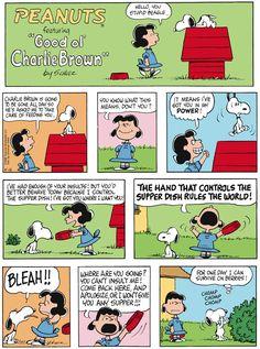 Classic Peanuts 4/12/15 - Originally appeared 4/15/68