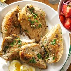 Slow-Cooked Lemon Chicken Recipe from Taste of Home
