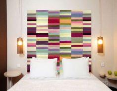 cabeceira-de-cama-elevada-com-pintura-de-formas-geometricas-