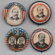The Golden Age of Political Buttons | Collectors' Blog