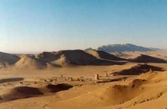 The Syrian Desert best known for it's many hills. Land Before Time, The Golem, Hills And Valleys, Camels, Syria, Homeland, Places To See, Environment, Country Roads