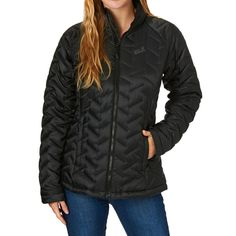 Jack Wolfskin Jackets - Jack Wolfskin Women's Icy Creek Jacket  - Black