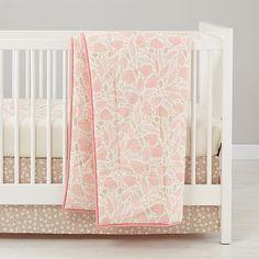 2b513bbe83434 Well Nested Organic Crib Bedding (Pink)
