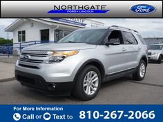 2015 *Ford*  *Explorer* *XLT*  9k miles Call for Price 9867 miles 810-267-2066 Transmission: Automatic  #Ford #Explorer #used #cars #NorthgateFordLincolnMercury #PortHuron #MI #tapcars