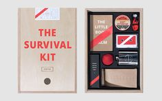 No more deadline anxiousness, presentation panic, or worrying about an electricity cut in the office. Canadian creative studio Phoenix has come up with a simple way to make your office hours easier: The Survival Kit.