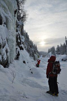 Krokan, Rjukan   ICE CLIMBING