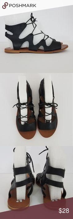 36239e875 BP black gladiator sandals BP (Nordstom brand) Lace up gladiator sandal  Black leather