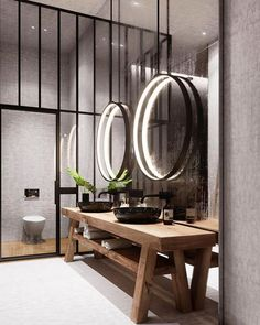House interior design bathroom mirror for 2019 Bad Inspiration, Bathroom Inspiration, Interior Inspiration, Bathroom Ideas, Modern Bathroom, Restroom Ideas, Small Bathroom, Design Bathroom, Navy Bathroom