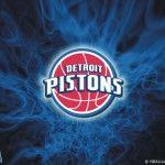 Detroit Pistons Logo Wallpaper