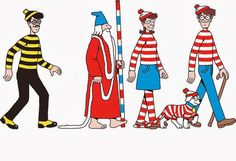 Mijn eigen plekkie: Waar is Wally?Where's Waldo?....