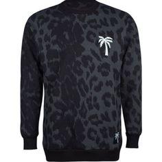 f63ae635614ce9 BLVD SUPPLY Wild Mens Sweatshirt  sweatshirt  bldv  cheetah  print  black