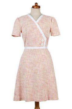 """60er Jahre - SALE! 60er Jahre Kleid """"Doris"""" - ein Designerstück von Carlottas-mode bei DaWanda"""