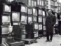 Louis van Paridon, Waterlooplein Flea Market, 1967.