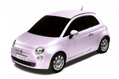 Fiat 500 Baby Pink - limited edition only Japan
