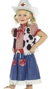 Image result for disfraz de vaquera para niña
