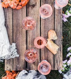 Beautiful Rosé set up! - See our favorite Rosé Party Ideas on B. Lovely Events! Wine Parties, Summer Parties, Wine And Cheese Party, Adult Birthday Party, Love Rose, Wind Chimes, Event Ideas, Party Ideas, Bridal Shower